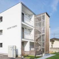 エコアパートの建築設計