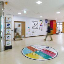 病院の国際化に向けた院内サインデザイン